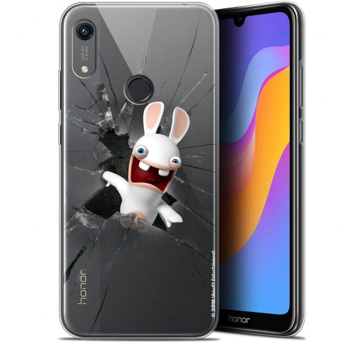 """Gel Huawei Honor 8A (6.1"""") Case Lapins Crétins™ Breaking Glass"""