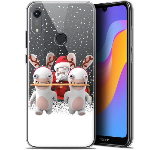 """Gel Huawei Honor 8A (6.1"""") Case Lapins Crétins™ Lapin Traineau"""