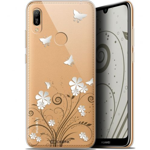 "Extra Slim Gel Huawei Y6 2019 (6.1"") Case Summer Papillons"