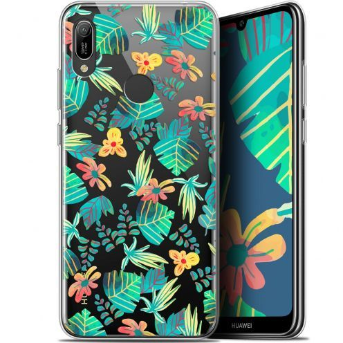 "Extra Slim Gel Huawei Y6 2019 (6.1"") Case Spring Tropical"