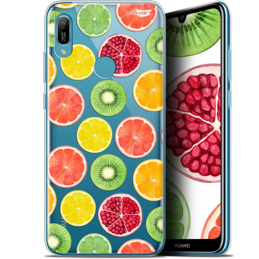 "Extra Slim Gel Huawei Y6 2019 (6.1"") Case Design Fruity Fresh"