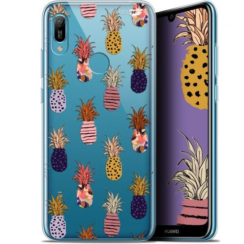 "Extra Slim Gel Huawei Y6 2019 (6.1"") Case Design Ananas Gold"