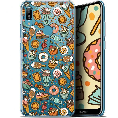 "Extra Slim Gel Huawei Y6 2019 (6.1"") Case Design Bonbons"