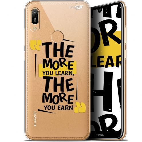 "Extra Slim Gel Huawei Y6 2019 (6.1"") Case Design The More You Learn"