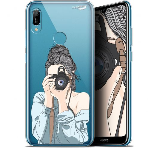 "Extra Slim Gel Huawei Y6 2019 (6.1"") Case Design La Photographe"