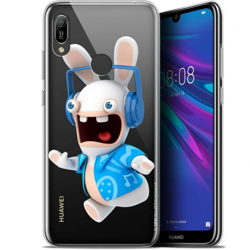 "Gel Huawei Y6 2019 (6.1"") Case Lapins Crétins™ Techno Lapin"