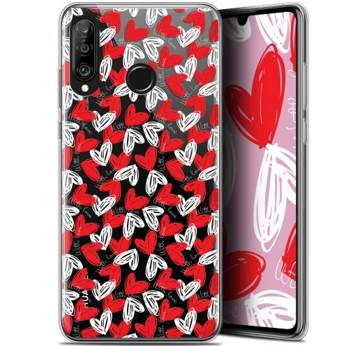 "Extra Slim Gel Huawei P30 Lite (6.2"") Case Love With Love"