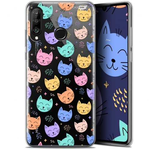 "Extra Slim Gel Huawei P30 Lite (6.2"") Case Design Chat Dormant"