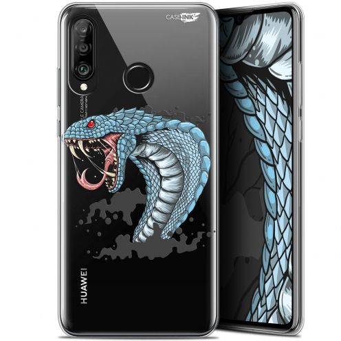 "Extra Slim Gel Huawei P30 Lite (6.2"") Case Design Cobra Draw"