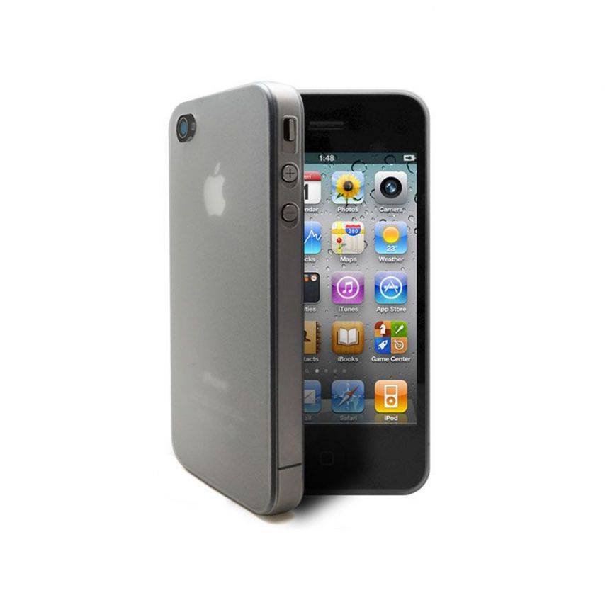 Ultra thin Case 0.3 mm Frost iPhone 4 / 4 white