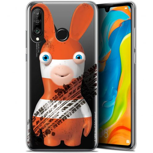 "Gel Huawei P30 Lite (6.2"") Case Lapins Crétins™ On the Road"