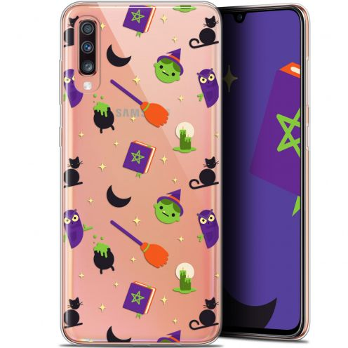 "Extra Slim Gel Samsung Galaxy A70 (6.7"") Case Halloween Witch Potter"