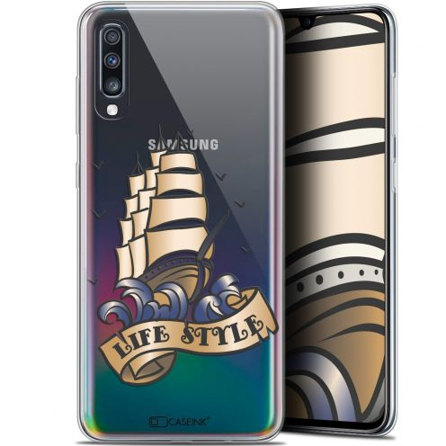 "Extra Slim Gel Samsung Galaxy A70 (6.7"") Case Tatoo Lover Fashion"