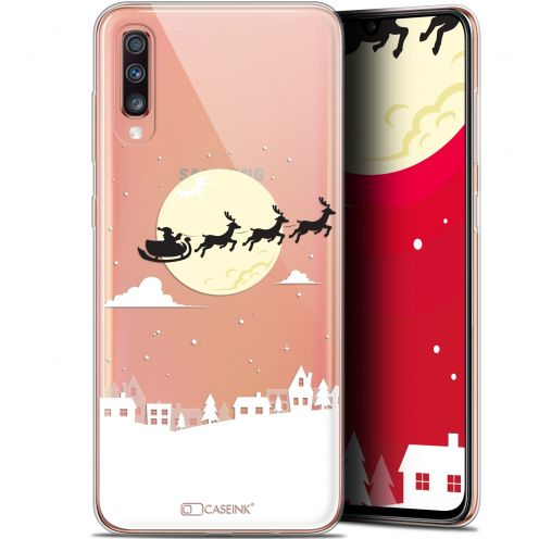 "Extra Slim Gel Samsung Galaxy A70 (6.7"") Case Noël 2017 Flying Stanta"