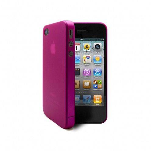 Ultra thin Case 0.3 mm Frost iPhone 4 / 4 Pink