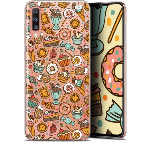 "Extra Slim Gel Samsung Galaxy A70 (6.7"") Case Design Bonbons"