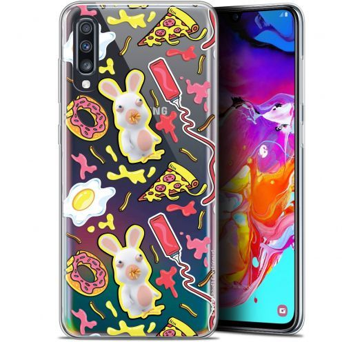 "Gel Samsung Galaxy A70 (6.7"") Case Lapins Crétins™ Egg Pattern"