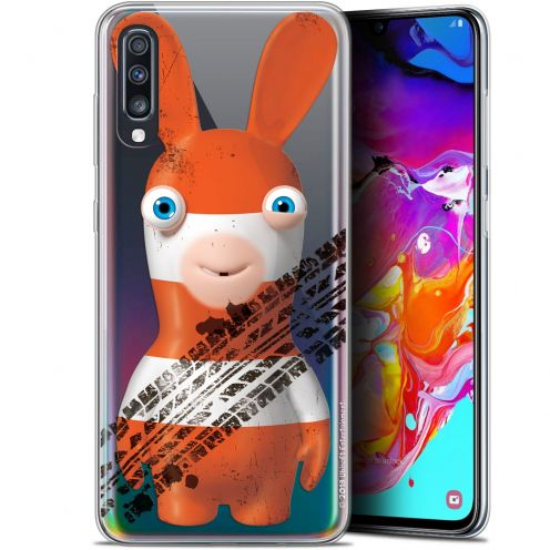 "Gel Samsung Galaxy A70 (6.7"") Case Lapins Crétins™ On the Road"