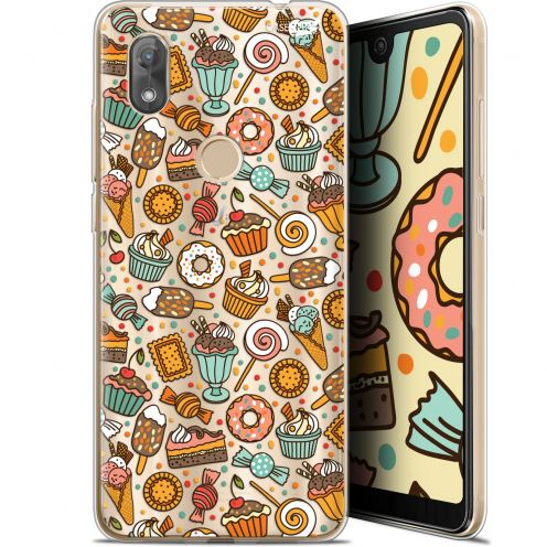 "Extra Slim Gel Wiko View 2 (6"") Case Design Bonbons"