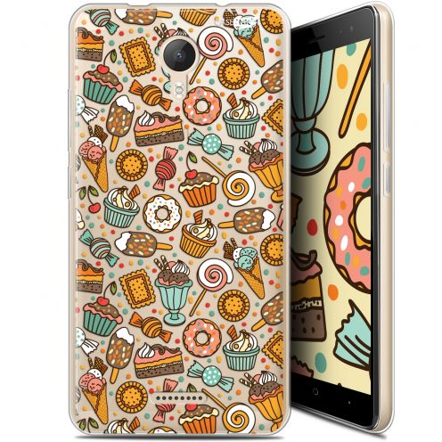 "Extra Slim Gel Wiko Jerry 2 (5.0"") Case Design Bonbons"