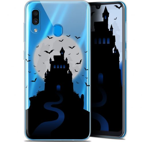 "Extra Slim Gel Samsung Galaxy A30 (6.4"") Case Halloween Castle Nightmare"