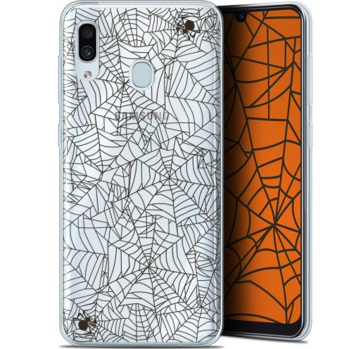 "Extra Slim Gel Samsung Galaxy A30 (6.4"") Case Halloween Spooky Spider"