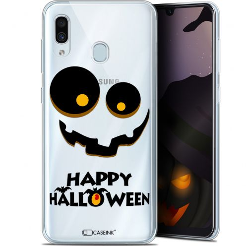 "Extra Slim Gel Samsung Galaxy A30 (6.4"") Case Halloween Happy"