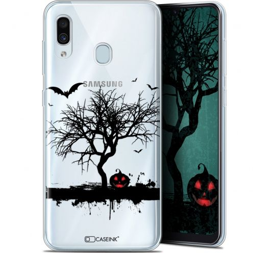 "Extra Slim Gel Samsung Galaxy A30 (6.4"") Case Halloween Devil's Tree"