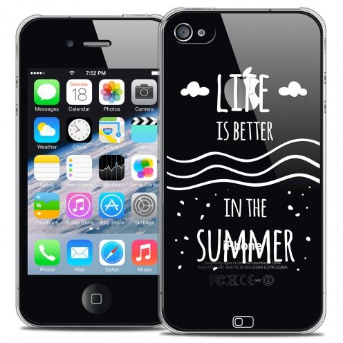 Extra Slim Crystal iPhone 4/4s Case Summer Life's Better