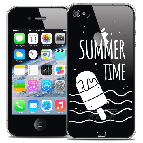 Extra Slim Crystal iPhone 4/4s Case Summer Summer Time