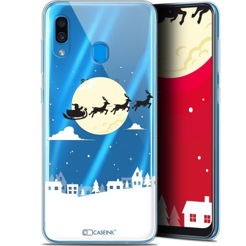 "Extra Slim Gel Samsung Galaxy A30 (6.4"") Case Noël 2017 Flying Stanta"