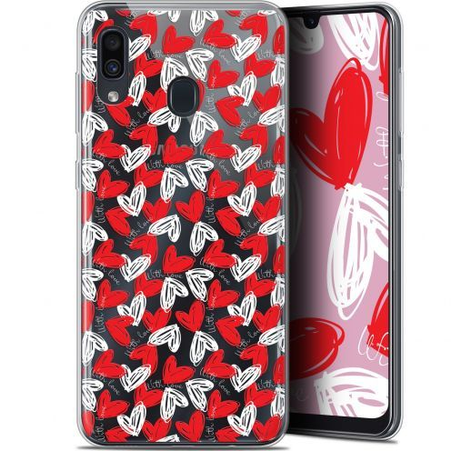 "Extra Slim Gel Samsung Galaxy A30 (6.4"") Case Love With Love"