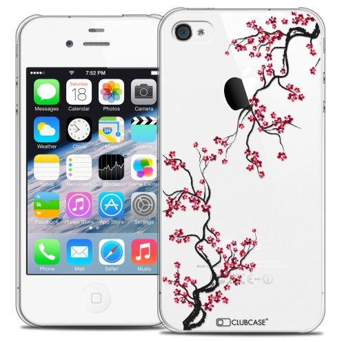 Extra Slim Crystal iPhone 4/4s Case Summer Sakura