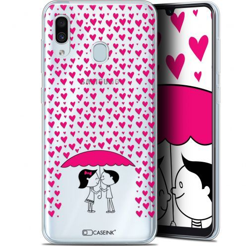 "Extra Slim Gel Samsung Galaxy A30 (6.4"") Case Love Pluie d'Amour"