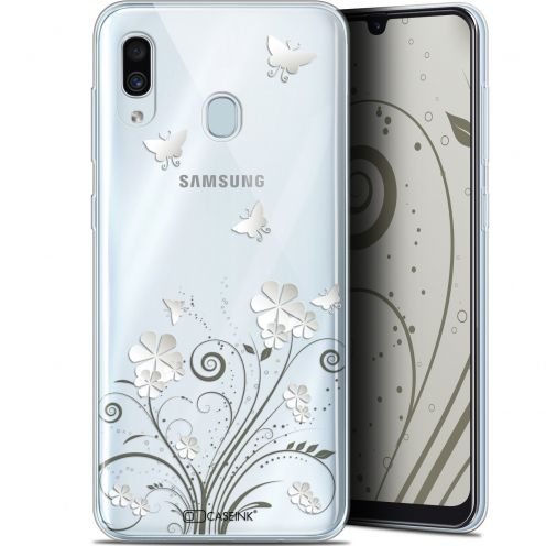 "Extra Slim Gel Samsung Galaxy A30 (6.4"") Case Summer Papillons"