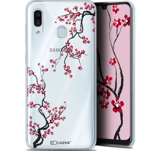"Extra Slim Gel Samsung Galaxy A30 (6.4"") Case Summer Sakura"