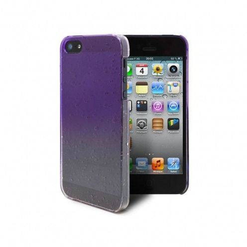 Raindrops case for iPhone 5 purple