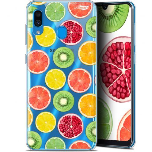 "Extra Slim Gel Samsung Galaxy A30 (6.4"") Case Design Fruity Fresh"
