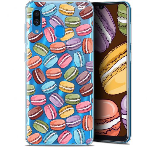 "Extra Slim Gel Samsung Galaxy A30 (6.4"") Case Design Macarons"