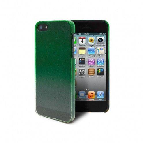 Raindrops case for iPhone 5 / 5S / SE Green