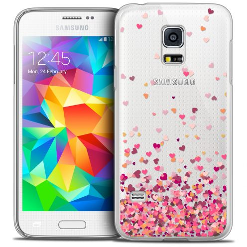Extra Slim Crystal Galaxy S5 Mini Case Sweetie Heart Flakes