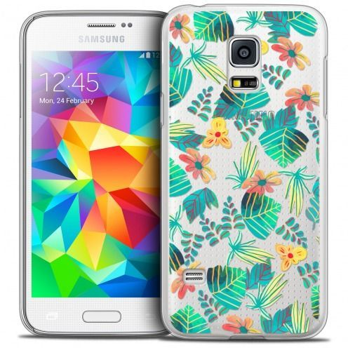 Extra Slim Crystal Galaxy S5 Mini Case Spring Tropical