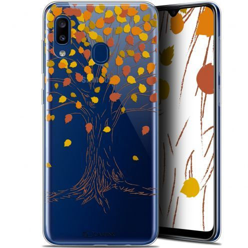 "Extra Slim Gel Samsung Galaxy A20 (6.4"") Case Autumn 16 Tree"