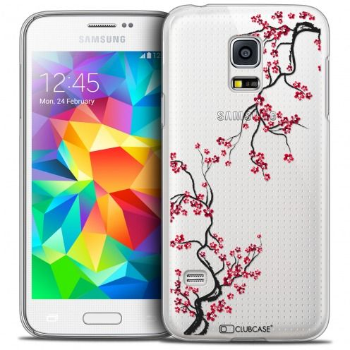 Extra Slim Crystal Galaxy S5 Mini Case Summer Sakura