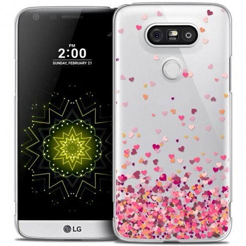 Extra Slim Crystal LG G5 Case Sweetie Heart Flakes