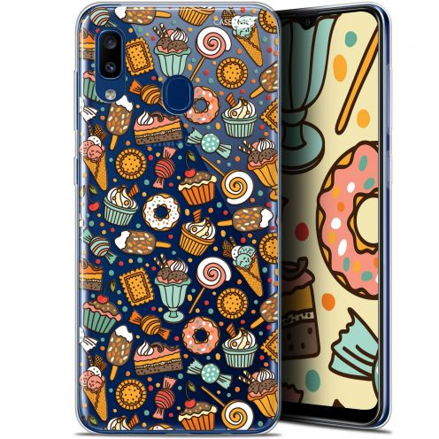 "Extra Slim Gel Samsung Galaxy A20 (6.4"") Case Design Bonbons"