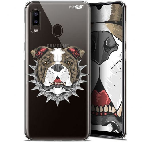"Extra Slim Gel Samsung Galaxy A20 (6.4"") Case Design Doggy"
