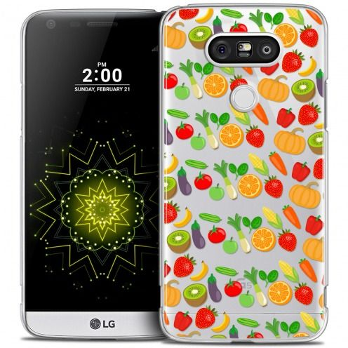 Extra Slim Crystal LG G5 Case Foodie Healthy