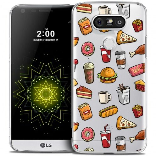 Extra Slim Crystal LG G5 Case Foodie Fast Food