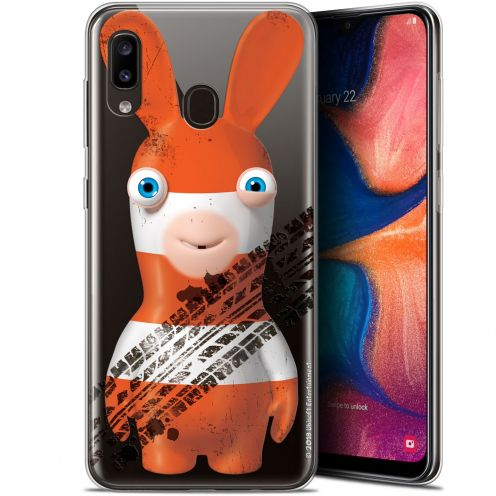 "Gel Samsung Galaxy A20 (6.4"") Case Lapins Crétins™ On the Road"